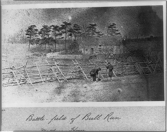 Battlefield of Bull Run, Matthew&#39;s house
