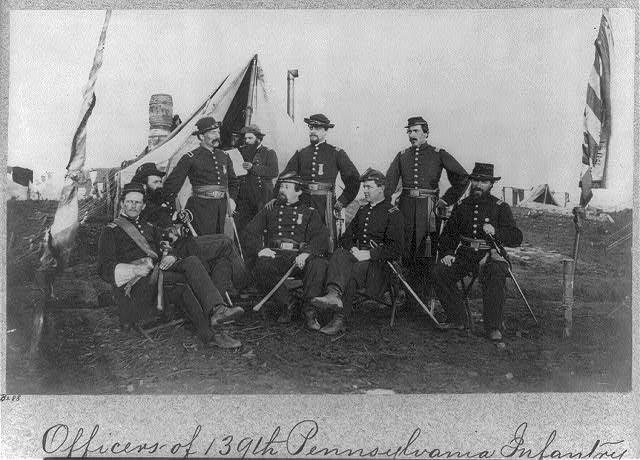 Officers of 139th Pennsylvania Infantry