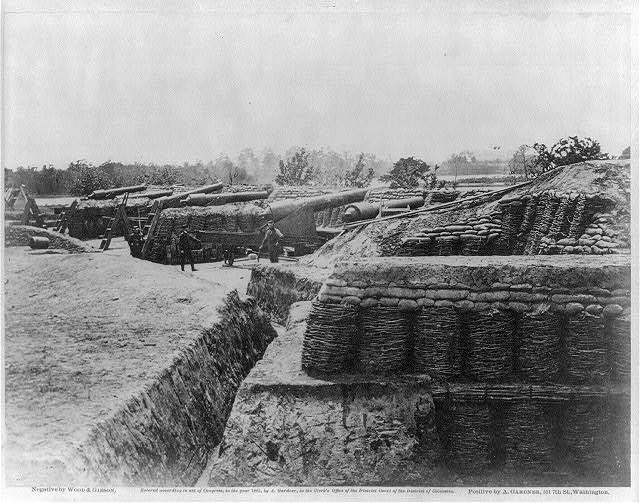 Battery no. 1, near Yorktown, Virginia