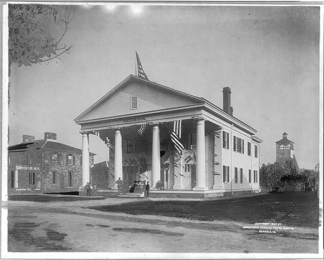 [Georgia building at Jamestown Exposition]