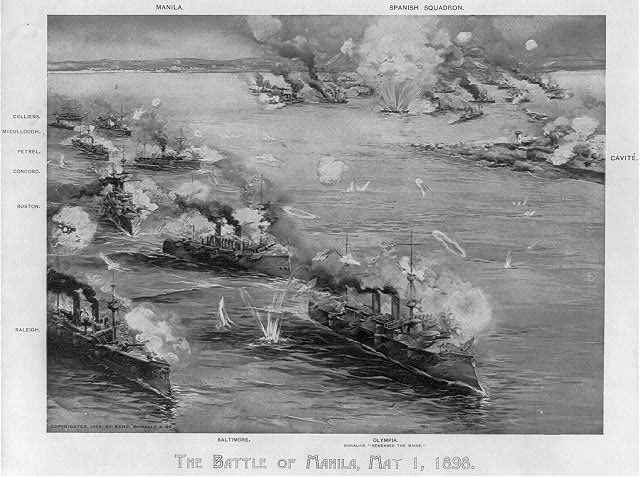 The Battle of Manila, May 1, 1898