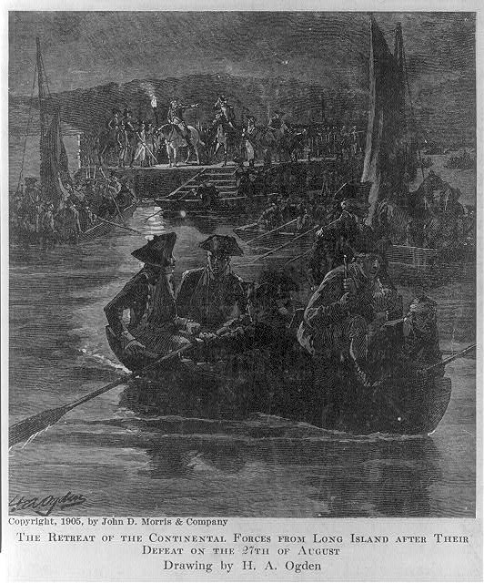 [The retreat of the Continental Forces from Long Island after their defeat on the 27th of August]