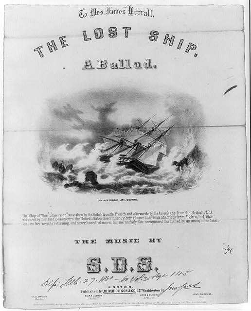 The lost ship - a ballad