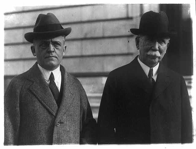 Edward L. Doheny and his lawyer Frank J. Hogan