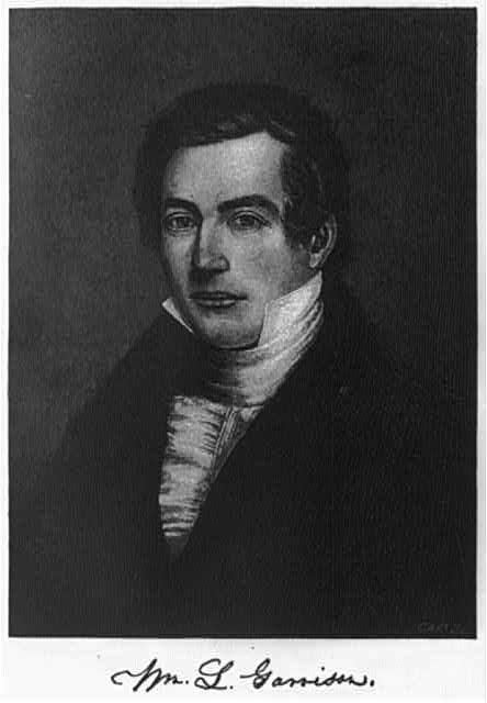 [William Lloyd Garrison, 1805-1879, bust portrait, facing left]