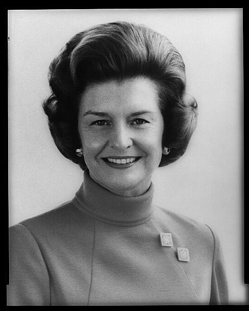[Mrs. Gerald Ford, half-length portrait, facing front]