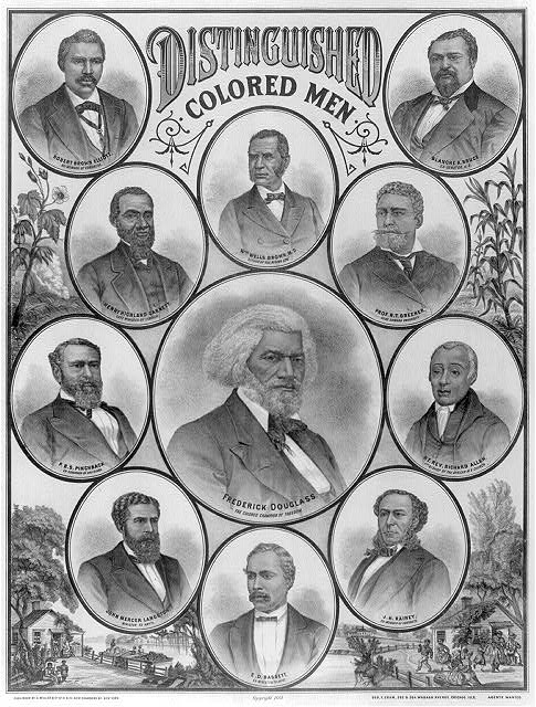 Distinguished colored men