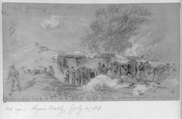Siege of Petersburg. 18th Corps