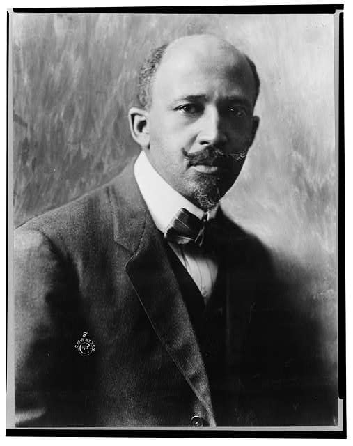 W.E.B. (William Edward Burghardt) Du Bois, 1868-1963