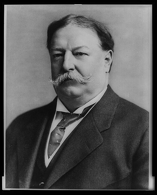 [William Taft, head-and-shoulders portrait, facing left]