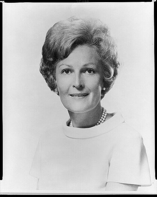 [Mrs. Richard M. Nixon, head-and-shoulders portrait, facing front]