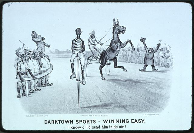Darktown Sports - Winning easy: I know'd i'd send him in de air!