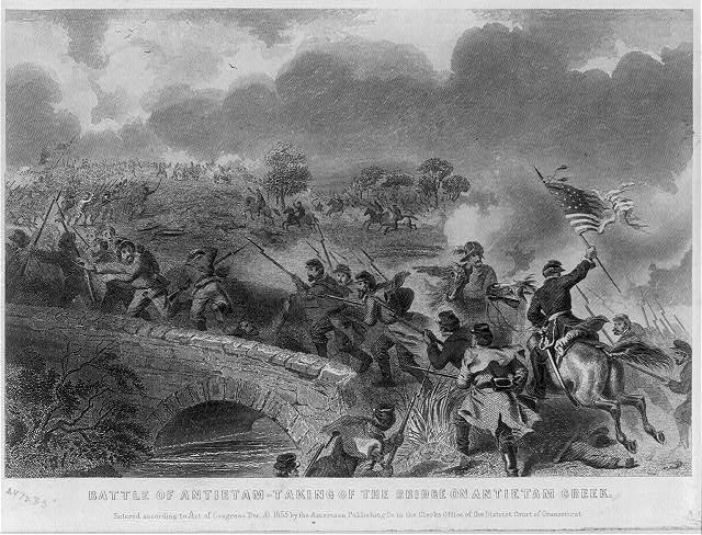 Battle of Antietam - Taking of the Bridge on Antietam Creek