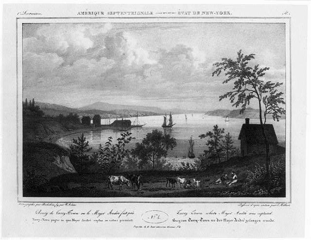 Tarrytown, N.Y., where Major Andre was captured