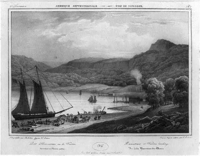 Haverstraw Landing on the Hudson River [N.Y.]