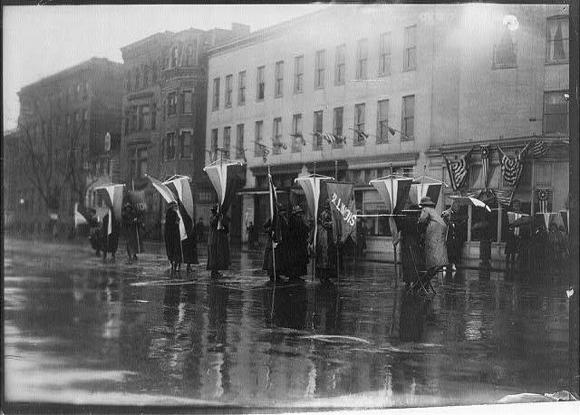 Suffragette demonstration, Washington, D.C.