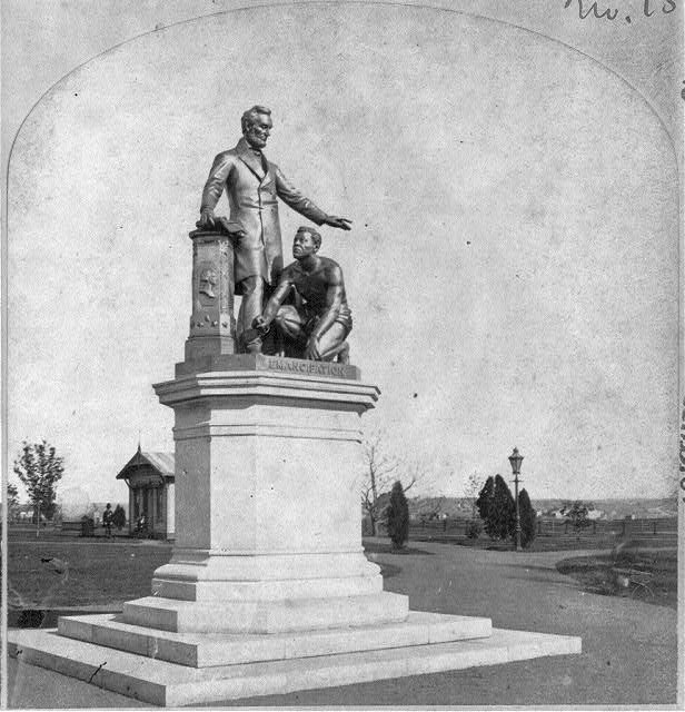 Emancipation Monument, Lincoln Park, Washington, D.C. - Thomas Ball, sculptor