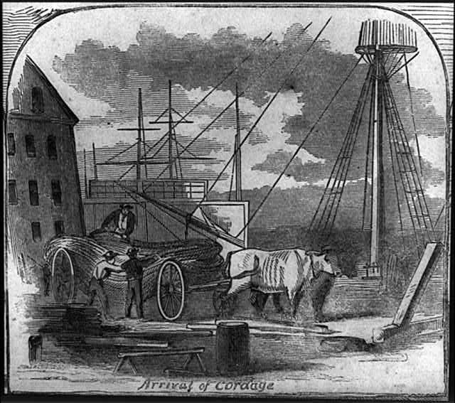 Scenes in the Brooklyn Navy-Yard: Gunboat on the Stocks