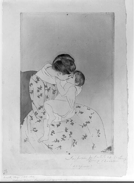 Mother's kiss / Mary Cassatt