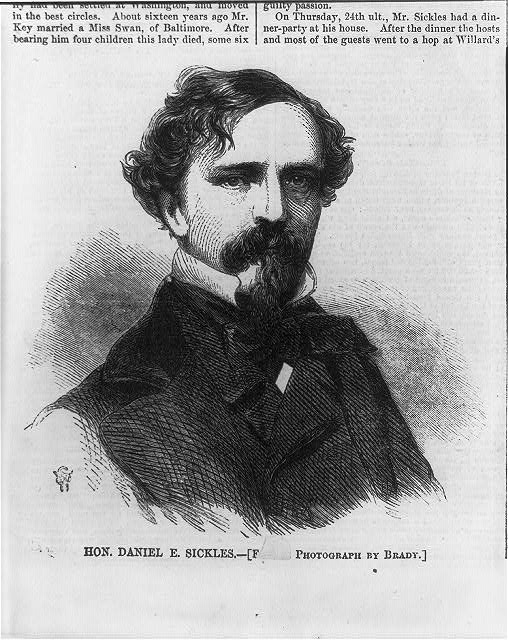 Daniel Edgar Sickles, 1819-1914