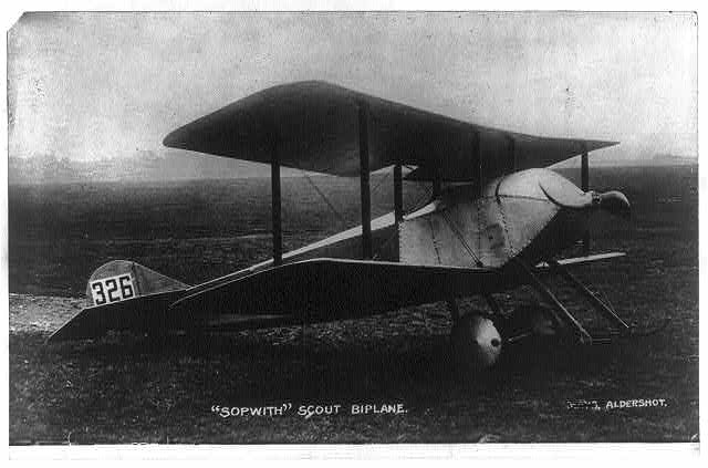 T.O.M. Sopwith -- Airplane
