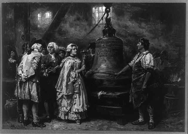 The bell's first note