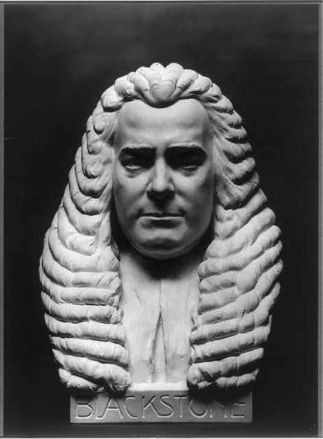 Sir William Blackstone, 1723-1780