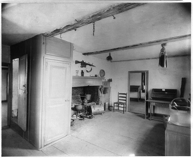 The Old (New) Kitchen in Cottage of John & Abigal Adams