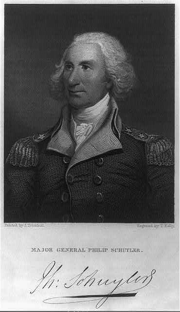 Major general Philip Schuyler