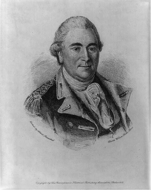 Anthony Wayne, 1745-1796