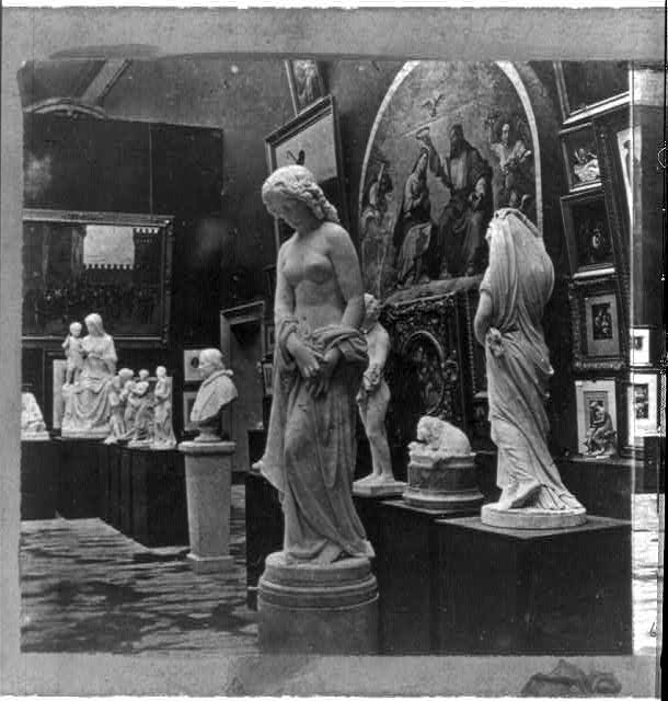 Exposition Universelle de Paris, 1867. Statuary and Paintings. Italian section