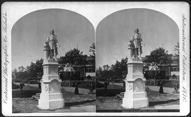 International Exhibition, Phila., Pa.: Statue of Columbus
