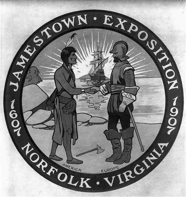 Jamestown Exposition, 1607-1907. Norfolk. Va. Exposition Design No. 3