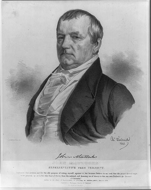 John Mattocks, Representative from Vermont