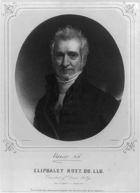 Eliphalet Nott. DD. LLD., President of Union College