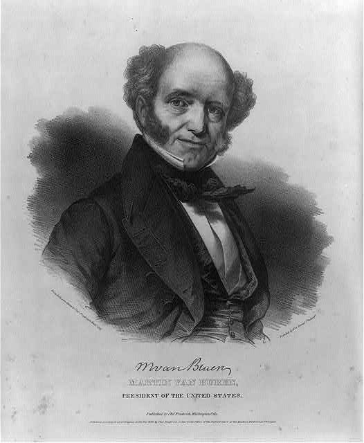 Martin Van Buren, President of the United States