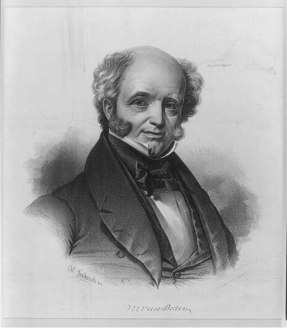 M. Van Buren, President of the United States