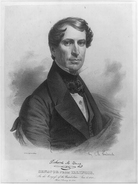 Richard M. Young, Senator from Illinois