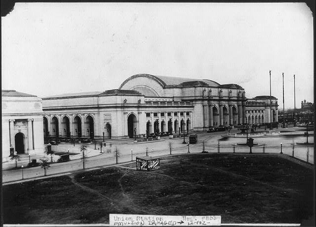 [Union Station, Washington, D.C. - full view from south]