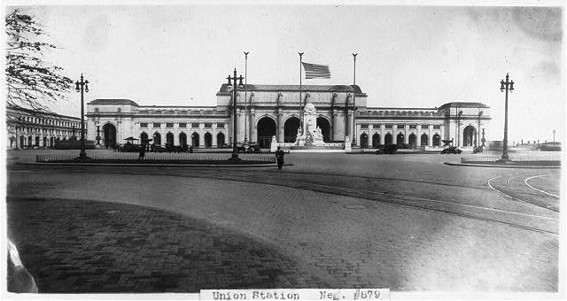 [Union Station, Washington, D.C. - full view from east]