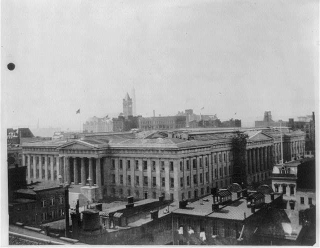 U.S. Patent Office building, Wash., D.C.