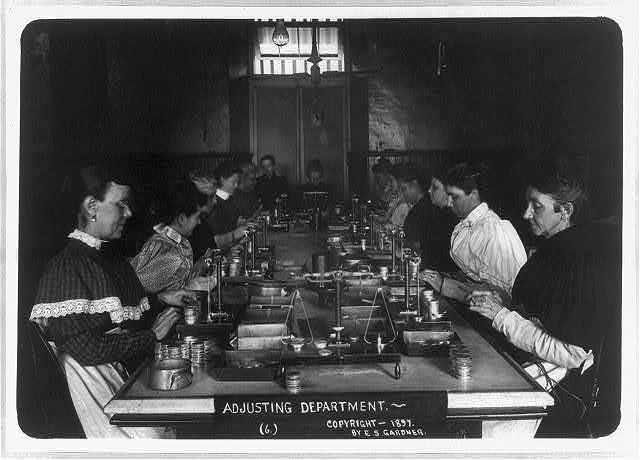 U.S. Mint, New Orleans, La.: Adjusting Department