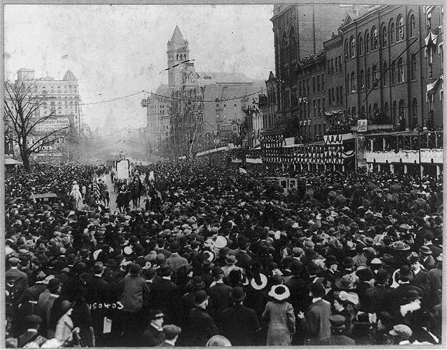 Suffragette parade, Washington, D.C., on March 3, 1913