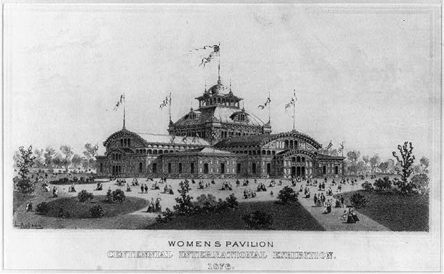 Womens pavilion centennial international exhibition