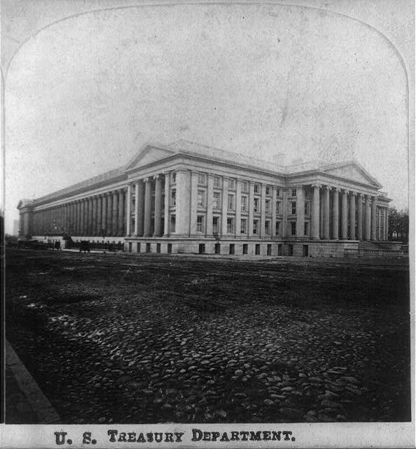 U.S. Treasury Department, Wash., D.C.