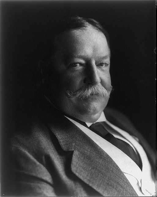 [Howard Taft, bust portriat, facing right]