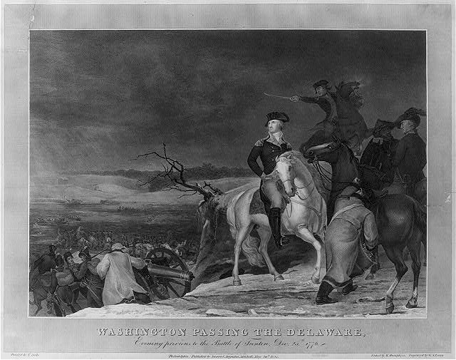 Washington passing the Delaware, evening previous to the Battle of Trenton, Dec. 25th, 1776 /