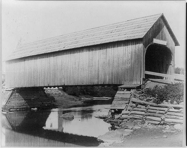 Mooseriver Village Bridge