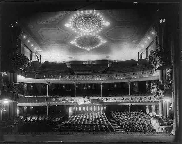 Interior of Bradford Theater