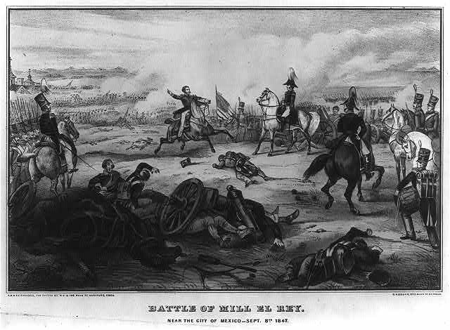 Battle of Mill El Rey--Near the city of Mexico--Sept. 8th 1847